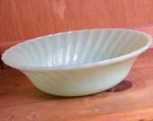 Anchor Hocking Fireking Jadeite Serving Bowl