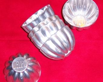Set of 6 Vintage Jello Molds Watch it Jiggle