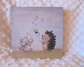 Picli the hedgehog - Bubbles