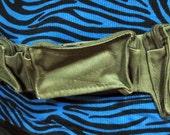 Canvas Utility Belt / Hip Bag / Saddle Bag / Pirate Pouch / Pocket Belt