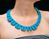 Binary II Necklace // Turquoise