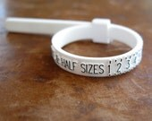 Adjustable ring sizer, gauge