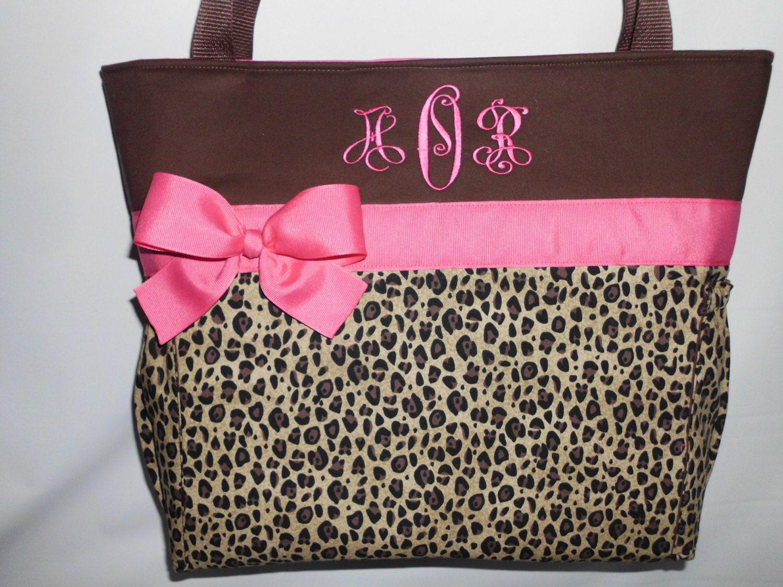 hot pink accents    cheetah     leopard print     diaper