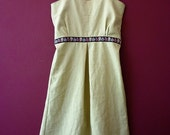 Natural linen sundress - Reserved for Abby