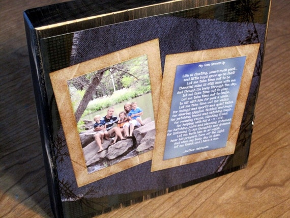 PERSONALIZED Photo COLLAGE Blocks- Custom made to order