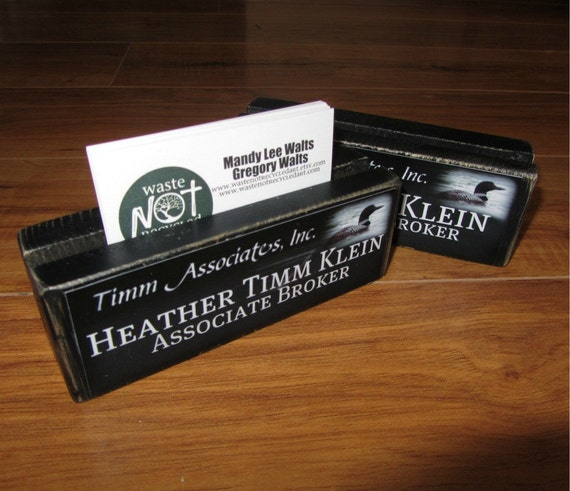 BUSINESS Card Holder for CRAFT SHOWS or to display in your store or place of business