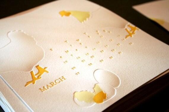 2011 Letterpress Calendar
