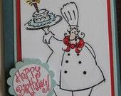 Chef Birthday Card