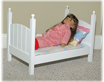 American Girl Doll Bed (add a second for bunks)