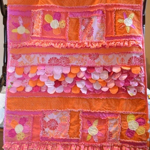 Melissa pattern review for Sew Girly Rag Quilt Pattern