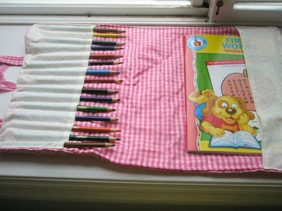 Pencil and Notebook Case Pattern