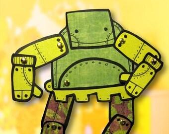 PDF Kid Bot Jointed Paper Robot Doll