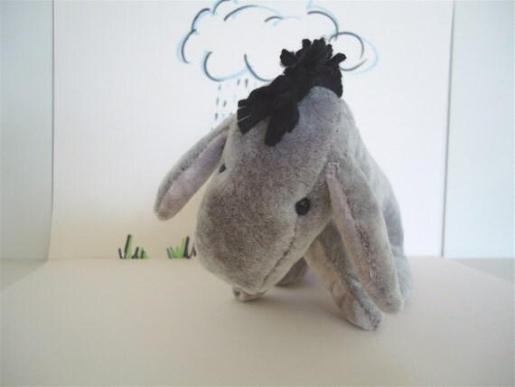 PDF E-pattern 6.5 inch Donkey (Shepard style Eeyore)