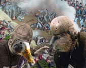 Oregon Civil War: Ducks vs. Beavers - 11x14 College Football Art Print
