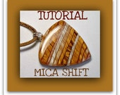 Mica Shift Tutorial- Polymer Clay Pendants tutorial- Beginner Tutorial- Easy Polymer Clay Tutorial