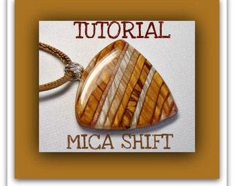 Mica Shift Tutorial- Polymer Clay Pendants tutorial- Beginner Tutorial- Easy Polymer Clay Tutorial