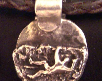 Heel Hook Climbing Necklace