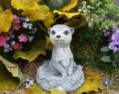 Meerkat Statue - Yard Animals - Outdoor Garden Decor