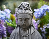 Kuan Yin Concrete Statue Goddess Quan Yin, Kwan Yin, Guanyin