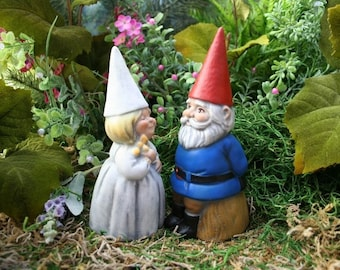 Custom Wedding Gnomes Cake Topper - You Choose Colors