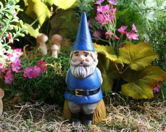 Custom Gnome - Garden Gnome Statue - Your Choice of Colors