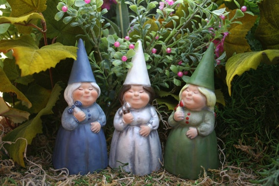 Garden Gnomes Custom Girl Lady Female Woman Yard Gnome