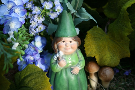 Female Gnomes For Sale Custom Girl Yard Gnome Statue