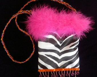 SmartBag, Zebra Stripe, Fuchsia Forever