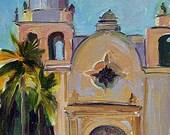 """Fine Art Archival Print Carmel Mission Bell """"San Carlos Borromeo de Carmelo"""" Smith-Dugan"""