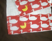 Boutique Burp Cloth sets......Red Letter Day..... Baby Boutique Burp Cloth Set