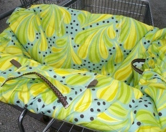 Boutique Shopping Cart Cover LAST one....CHOCOLATE LOLLIPOP
