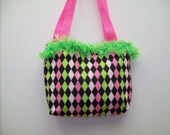 Fun and Funky Small Purse or Tote
