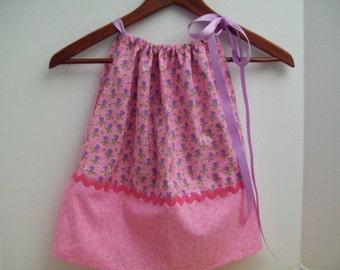 Lavender Heart Flowers-Sundress- Toddler