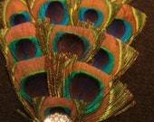 Peacock feather , peacock ,bridal,rhinestone, wedding fascinator, peacock fascinator, 1920s flapper girl, boho chic, hollywood glam