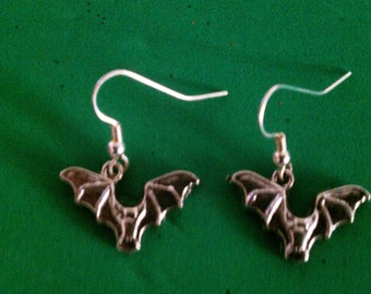 On sale Black Friday ON SALE BLACK Friday Bat earrings On Sale Black Friday