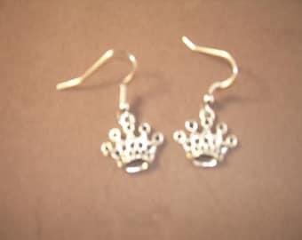 Crown princess earrings