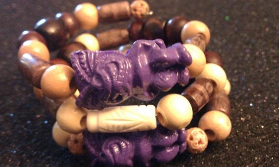 Tiki God, Tiki, Tiki bracelet, Tropical, Tiki jewelry, Tiki god bracelet, tiki jewelry, ooak, Tiki wire wrap, OOAK,