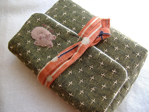 sleepy cat quilted multi case