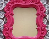 Pink Embellished Mirror