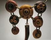 Statement Piece - Tribal Necklace - Indie Fashion - Talon Pendant