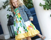 The MAKENA Collection....Custom Twirl Knot Dress 18m - 6 yrs