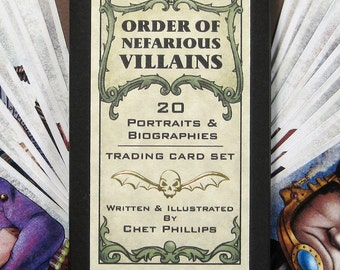 Order of Nefarious Villains Card Set