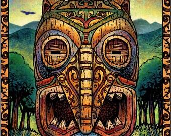 Owl Tiki