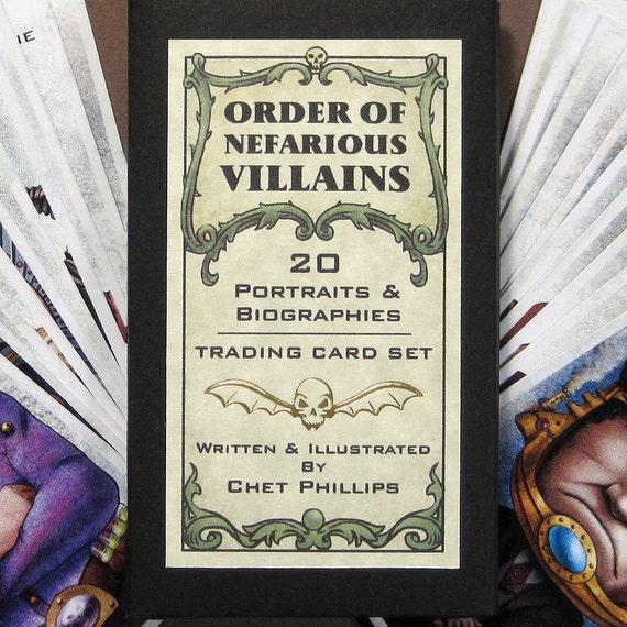 Order of Nefarious Villains Card Set