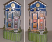Collectible stained glass San Francisco House