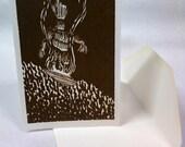 Wicker Man card - Set of 10 cards
