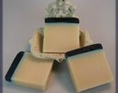 SALE Black Rasberry Vanilla Olive oil soap VEGAN