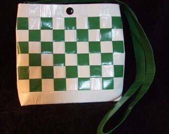Green Duct Tape Purse