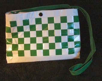 Large Green Duct Tape Purse