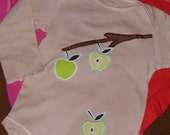 Apple Branch One Piece Bodysuit